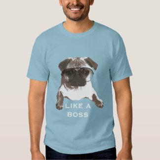 Barro amasado fresco como una camiseta de Boss Polera