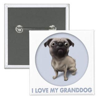 Barro amasado Granddog Pins