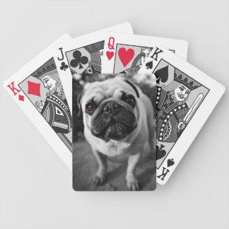 Barro amasado hermoso cartas de juego