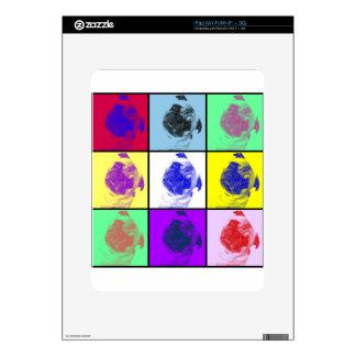 Barro amasado lindo enrrollado iPad skin