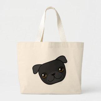 Barro amasado negro bolsas