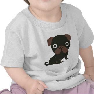 Barro amasado negro camiseta