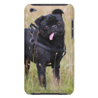 Barro amasado negro que pega hacia fuera Tounge iPod Case-Mate Carcasas
