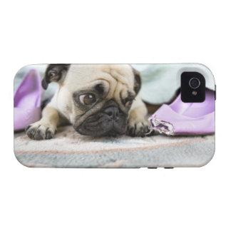 Barro amasado que parece inocente iPhone 4 carcasas