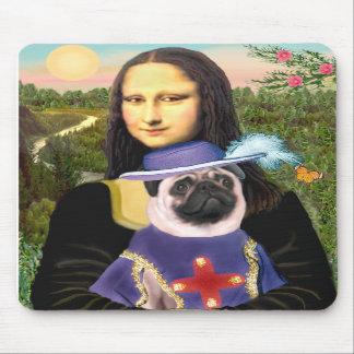 Barro amasado (sir) - Mona Lisa - modificada para  Tapete De Raton