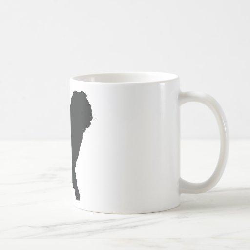 Barro amasado taza de café