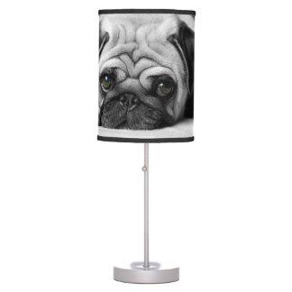 Barro amasado triste lámpara de mesilla de noche