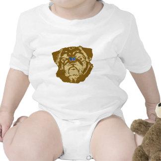 Barro amasado y mariposa trajes de bebé