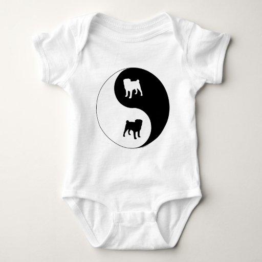 Barro amasado Yin Yang Camisetas