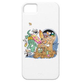 Barro del pantano que practica surf la cubierta de iPhone 5 carcasa