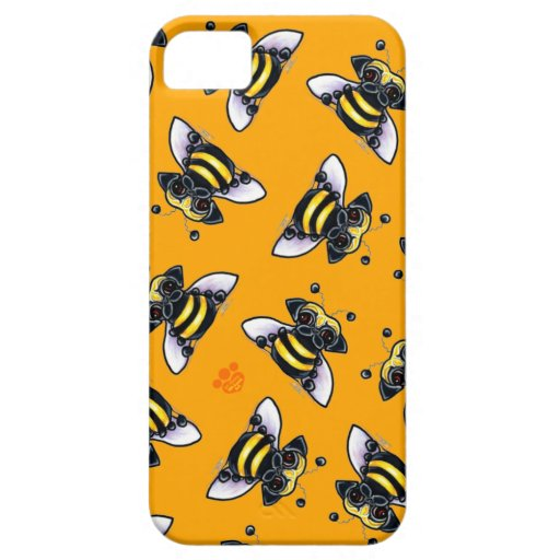 Barro-uno-Abeja iPhone 5 Case-Mate Protectores