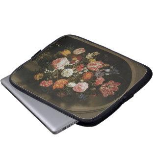 Barroco del vintage, pedazo de flor por mangas portátiles