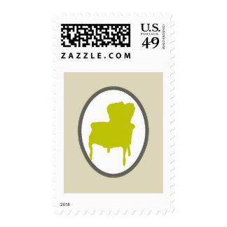 Barroco del vintage sello