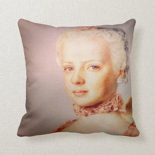 Barroco francés de la archiduquesa almohadas