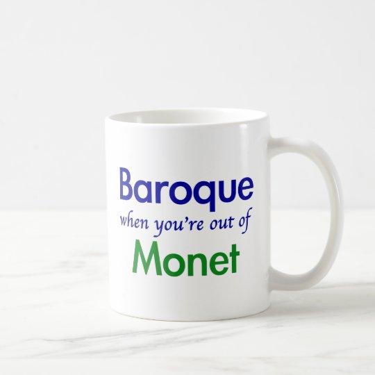 Barroco - Monet Taza De Café