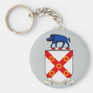 Barron Coat of Arms Keychain