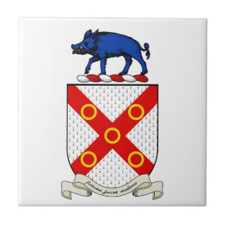 Barron Coat of Arms Tile