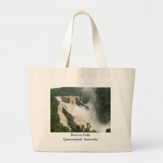 Barron Falls 1 Large Tote Bag