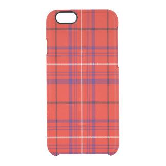 Barron Scottish Tartan Clear iPhone 6/6S Case