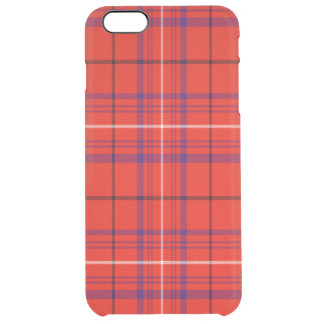 Barron Scottish Tartan Clear iPhone 6 Plus Case