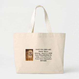 Barron Totebag Jumbo Tote Bag