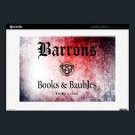 "Barrons Books and Baubles 15&quot; Laptop Mac &amp; PC Skin<br><div class=""desc"">BB&amp;B</div>"