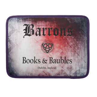 """Barrons Books and Baubles Macbook Pro 13"""" Sleeve"""