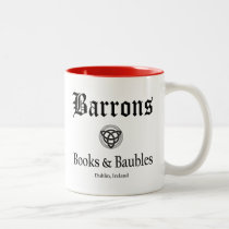 Barrons Books and Baubles Mug