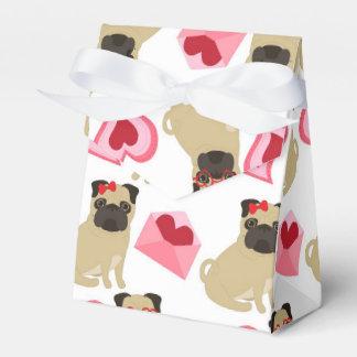Barros amasados adorables de la tarjeta del día de cajas para regalos