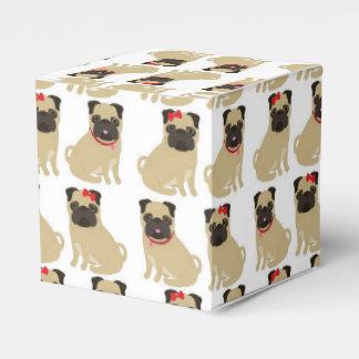 Barros amasados adorables de la tarjeta del día de cajas para regalos de boda