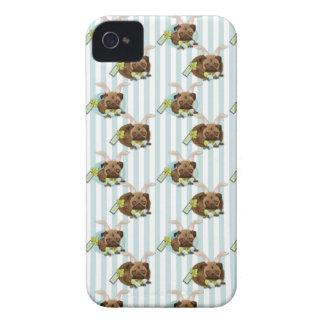 Barros amasados adorables de Pascua con los huevos Case-Mate iPhone 4 Cobertura