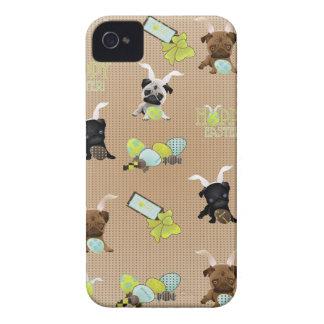 Barros amasados adorables de Pascua con los huevos Case-Mate iPhone 4 Funda