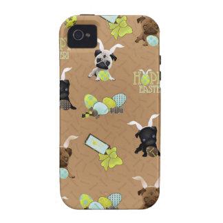 Barros amasados de Pascua Case-Mate iPhone 4 Carcasas