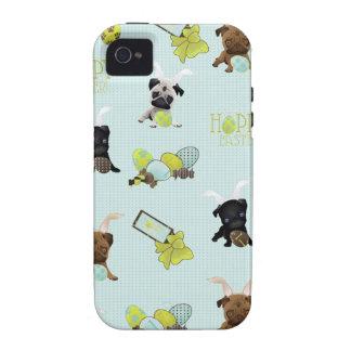 Barros amasados de Pascua iPhone 4 Carcasas