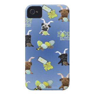 Barros amasados de Pascua iPhone 4 Protectores