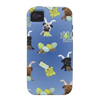 Barros amasados de Pascua Vibe iPhone 4 Fundas