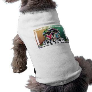 Barros amasados del carnaval 2015 de Pugsgiving - Playera Sin Mangas Para Perro