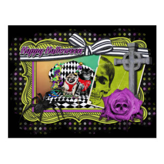 Barros amasados del carnaval 2015 de Pugsgiving - Postal