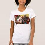 Barros amasados dos, 2F, 1blk de Santa en casa -) Camisetas