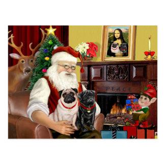 Barros amasados dos, 2F, 1blk de Santa en casa -) Postales