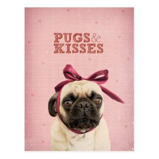 Barros amasados y besos por el itslolathepug postales