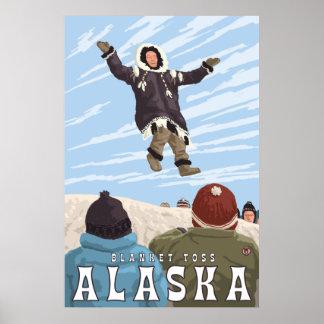 Barrow, Alaska Blanket Toss Poster