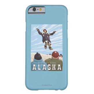 Barrow, Alaska Blanket Toss Vintage Travel Barely There iPhone 6 Case