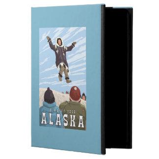 Barrow, Alaska Blanket Toss Vintage Travel Cover For iPad Air