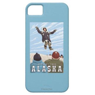 Barrow, Alaska Blanket Toss Vintage Travel iPhone SE/5/5s Case