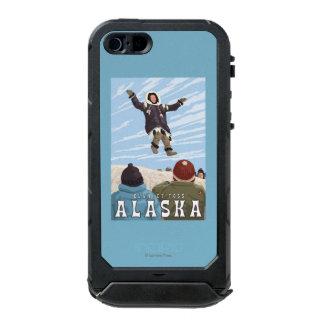 Barrow, Alaska Blanket Toss Vintage Travel Waterproof iPhone SE/5/5s Case