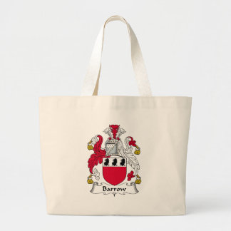 Barrow Family Crest Tote Bags
