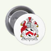 Barrowman Family Crest Button