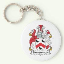 Barrowman Family Crest Keychain