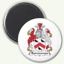 Barrowman Family Crest Magnet
